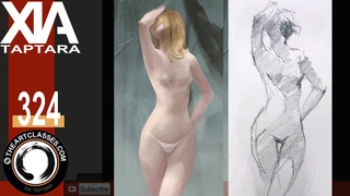 Drawing body and poses tutorial and exercises