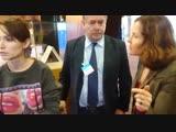 Депутат Рады и украинский журналист напали на российскую телеведущую в ПАСЕ