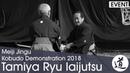 Tamiya Ryu Iaijutsu Tsumaki Tatsuo Meiji Jingu Kobudo Demonstration 2018