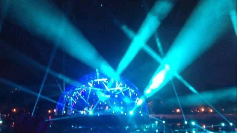 День рождения парка Горького 90 лет❣️🔥Потрясающе красиво свет звук атмосфера❣️😍😃