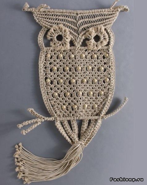 Плетение кашпо в технике