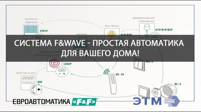 FWave - система управления по радиочастоте