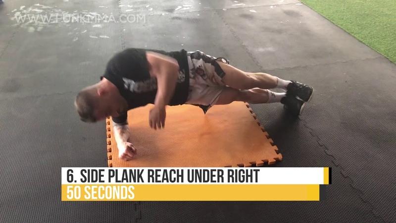 UFC Abs Workout with Fighter Alex Volkanovski (TIGER MUAY THAI)