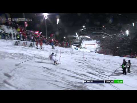 Nightrace Schladming 2012 - Finale 2. Durchgang HD 720p
