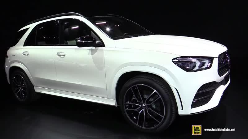 2020 Mercedes GLE 450 4Matic - Exterior and Interior Walkaround - Debut at 2018 Paris Motor Show