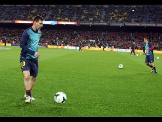 How Leo Messi prepares for a game