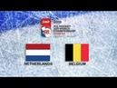 IIHF 2019 ICE HOCKEY U20 WORLD CHAMPIONSHIP - DIVISION II GROUP B - NETHERLANDS vs BELGIUM