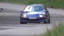 Kamil Kawalec Paulina Barańśka Honda Civic 5 Szombierki Rally Sprint 2015