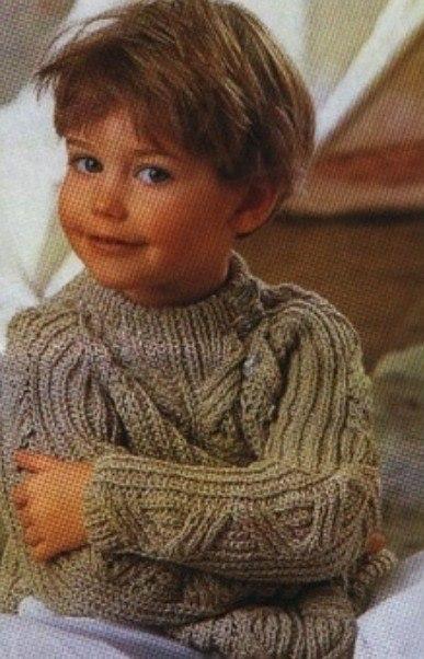 Пуловер для мальчика. (3 фото)