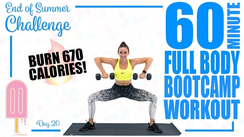 60 Minute Full Body Boot Camp Workout 🔥Burn 670 Calories 🔥