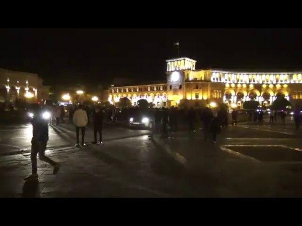 Ցույցեր Սերժ Սարգսյանի վարչապետության դ1381