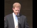 речь Гарри на вечеринке в Букингемском дворце