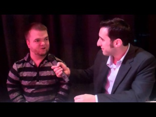 Soscia Talks To WWE's Hornswoggle!