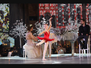 Зимняя сказка! Поэзия, музыка, танец /Наташа Фурман, Александр Петров, Полина Осетинская.
