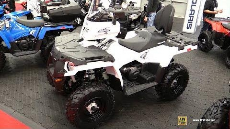 2018 Polaris Sportsman 570 EFI - Walkaround - 2017 Drummondville ATV Show