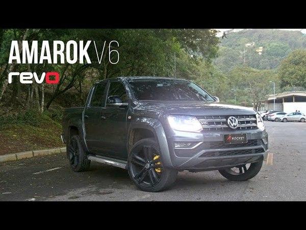 Rocket Performance - Amarok V6 insana com mapa REVO