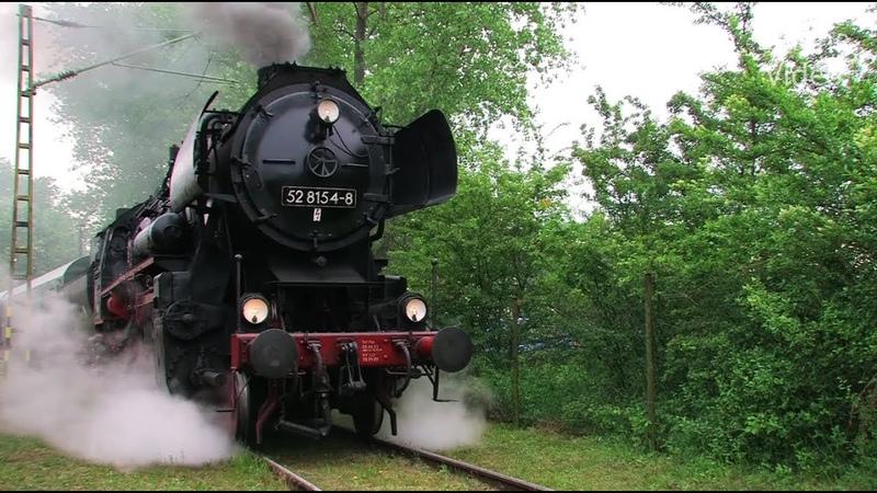Eisenbahnen zwischen Erzgebirge und Rügen 2/4 Steam Trains - Züge - Dampfloks