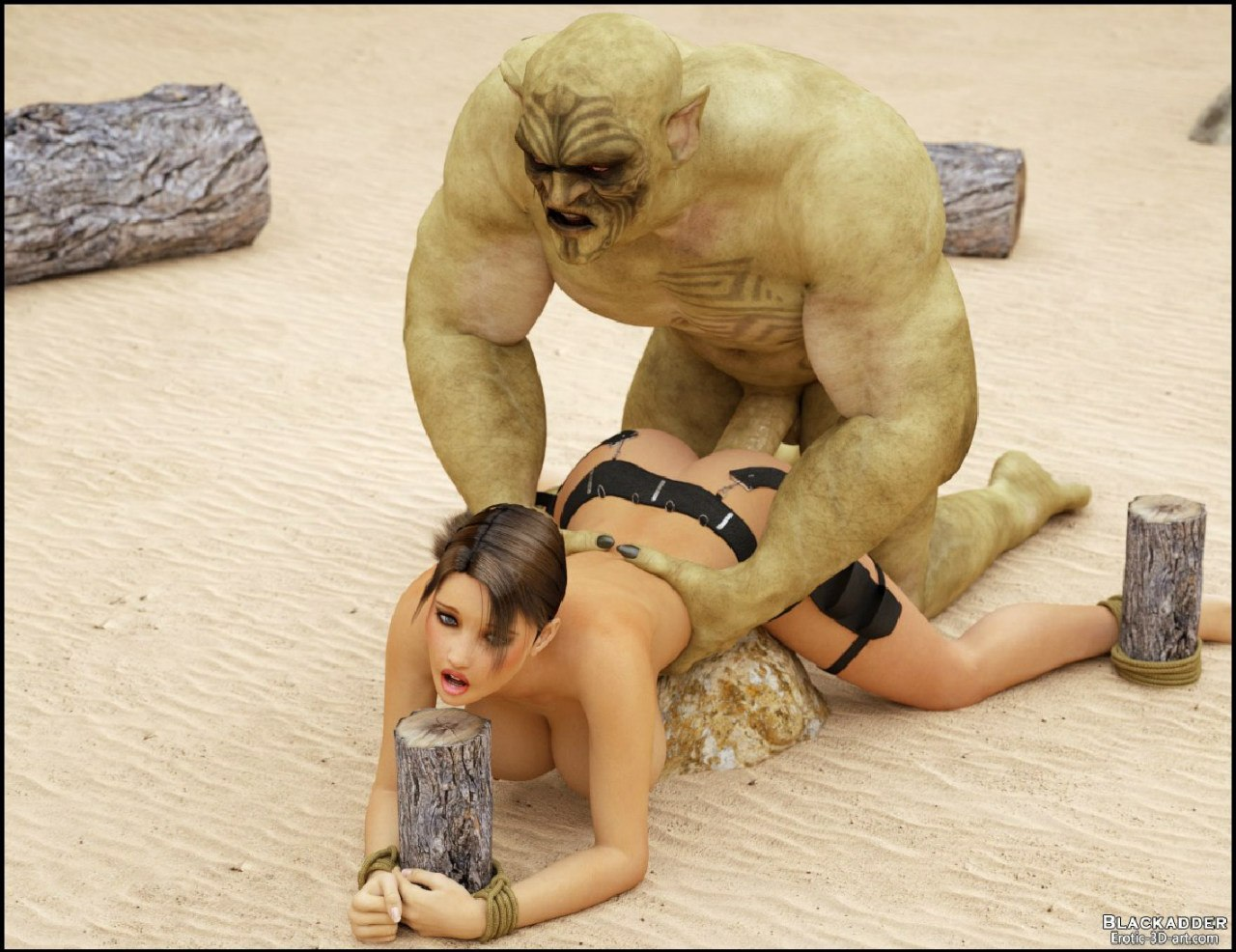 Lara croft fucks monsters video sex gallery