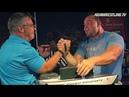 John BRZENK vs Travis BAGENT arm wrestle for 10 000$ !