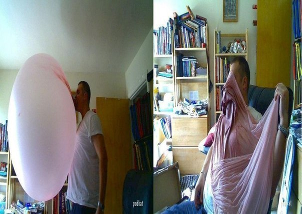 Как сделать большой пузырь из жвачки