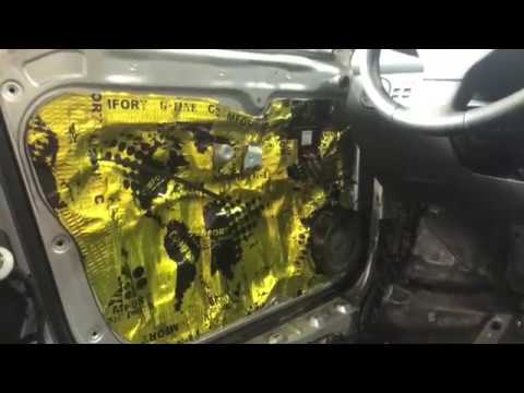 Volkswagen Caddy виброшумоизоляция. Сделали за 7,5 часов, подарив машине тишину