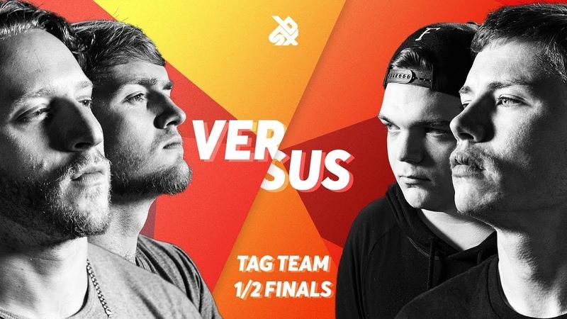K-PoM vs KOTCHA   Grand Beatbox TAG TEAM Battle 2018   SEMI FINAL