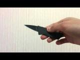 Нож кредитка CardSharp 2 Credit Card Knife Обзор описание инструкция