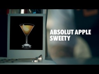 ABSOLUT APPLE SWEETY DRINK RECIPE - HOW TO MIX