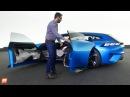 2017 Peugeot Instinct Concept Présentation la voiture autonome star du Salon de Genève