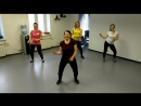 Зумба фитнесс в Югорске тренет Илона Гардер студия ЛОТОС lotos flv
