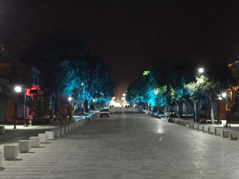 Иран 4. Вечерние улицы Хамедана