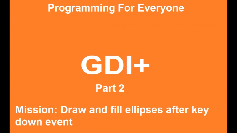 Course by GDI. Part 2