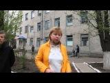 Sloviansk Hospital - Emotional Woman Speaks of Killed