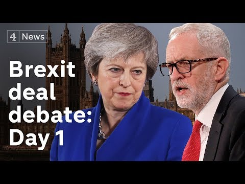Brexit deal debate LIVE Day 1