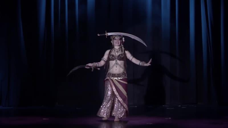 Silvia Salamanca performs in The Massive Spectacular! 2017