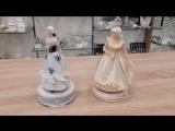 Музыкальные статуэтки из фарфора!