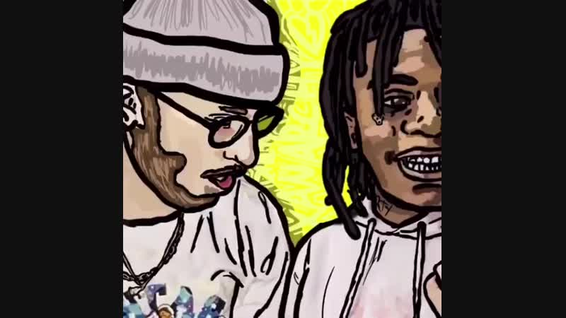 Lil Xan - Four-way Freestyle (Feat. Freshie, DJ Topgun)