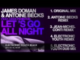 James Doman &amp Antoine Becks Feat. CeCe Peniston - Let's Go All Night (PREVIEW)