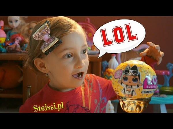 LOL первая кукла ЛОЛ игрушка куплена с барахолки плюется обзор и ОГРОМНЫЙ привет от