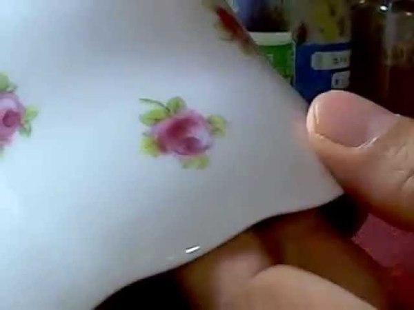ミニバラ ローズボールの描き方 重ね (彩色チャイナペインティン1246