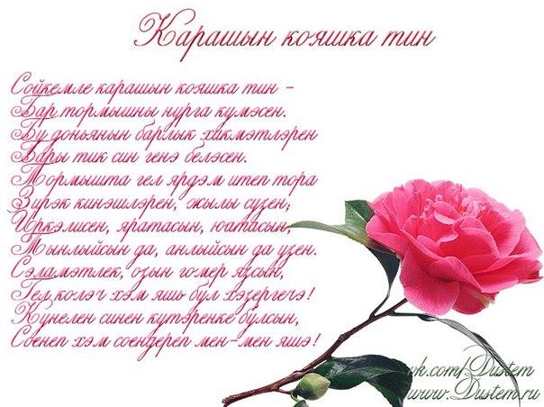 Поздравление на новоселье татарча