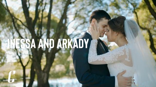 Инесса и Аркадий Свадебный Клип
