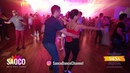 Steffen Kaufer and Anja Lohrum Rumeu Salsa Dancing at El Sol Warsaw Salsa Festival, Fri 09.11.2018