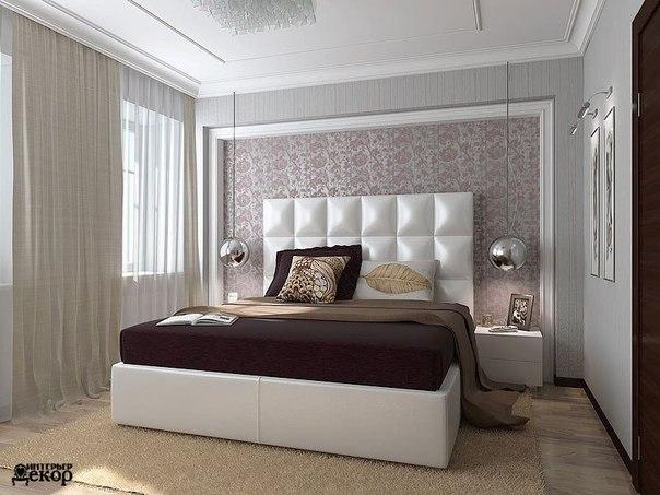 Стильная спальня (1 фото) - картинка