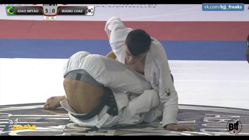 Joao Myao vs Wanki Chae worldPro18