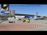 [FSX A320] LSZH-LEPA