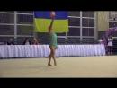 Александра Яремчук Мяч 2002 - Чемпионат ФСТ Украина 2018