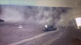 Сирия: дрон снял дуэль танка и «джихад мобиля»