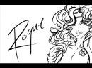 Speed drawing: Retro Rogue linart