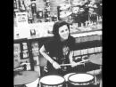 Young Lynn Gunn playing drums PVRIS